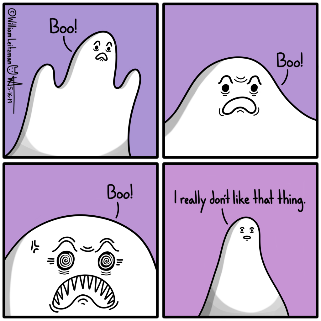 Boo! Boo! Boo! I really don't like that thing.